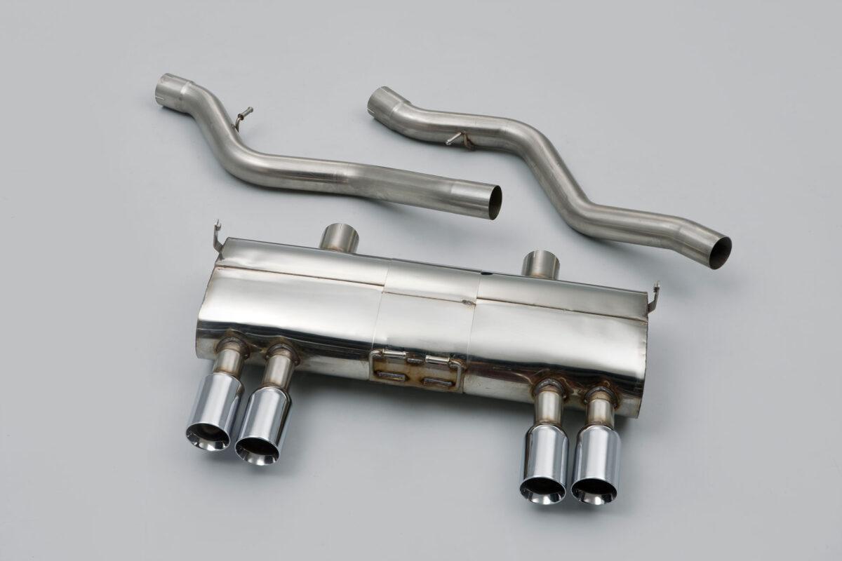 MILLTEK Cat Back Exhaust System SSXBM931 BMW E92 M3 4.0 V8 Coupé / BMW E90 M3 4.0 V8 Saloon - Sedan / BMW E93 M3 4.0 V8 Convertible