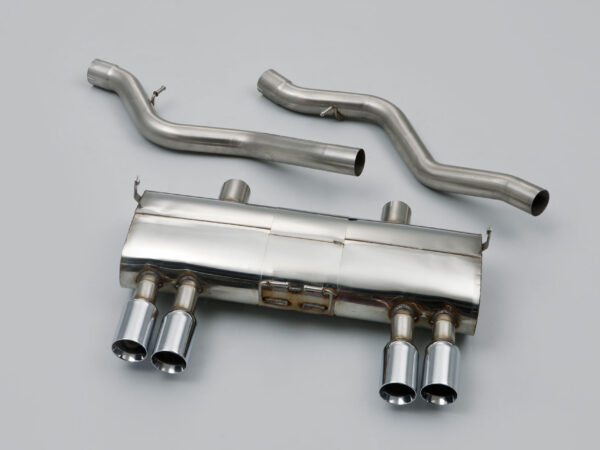 MILLTEK Cat Back Exhaust System SSXBM931 BMW E92 M3 4.0 V8 Coupé / BMW E90 M3 4.0 V8 Saloon - Sedan / BMW E93 M3 4.0 V8 Convertible