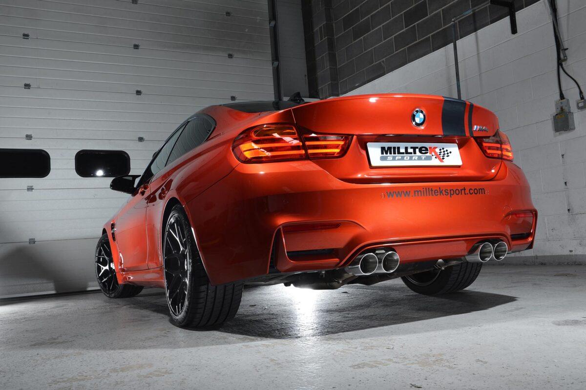 MILLTEK Cat Back Exhaust System SSXBM992 BMW F80 M3 Saloon / BMW F82 M4 Coupé