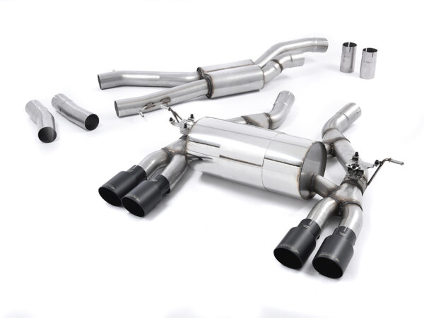 MILLTEK Cat Back Exhaust System SSXBM993 BMW F80 M3 Saloon / BMW F82 M4 Coupé