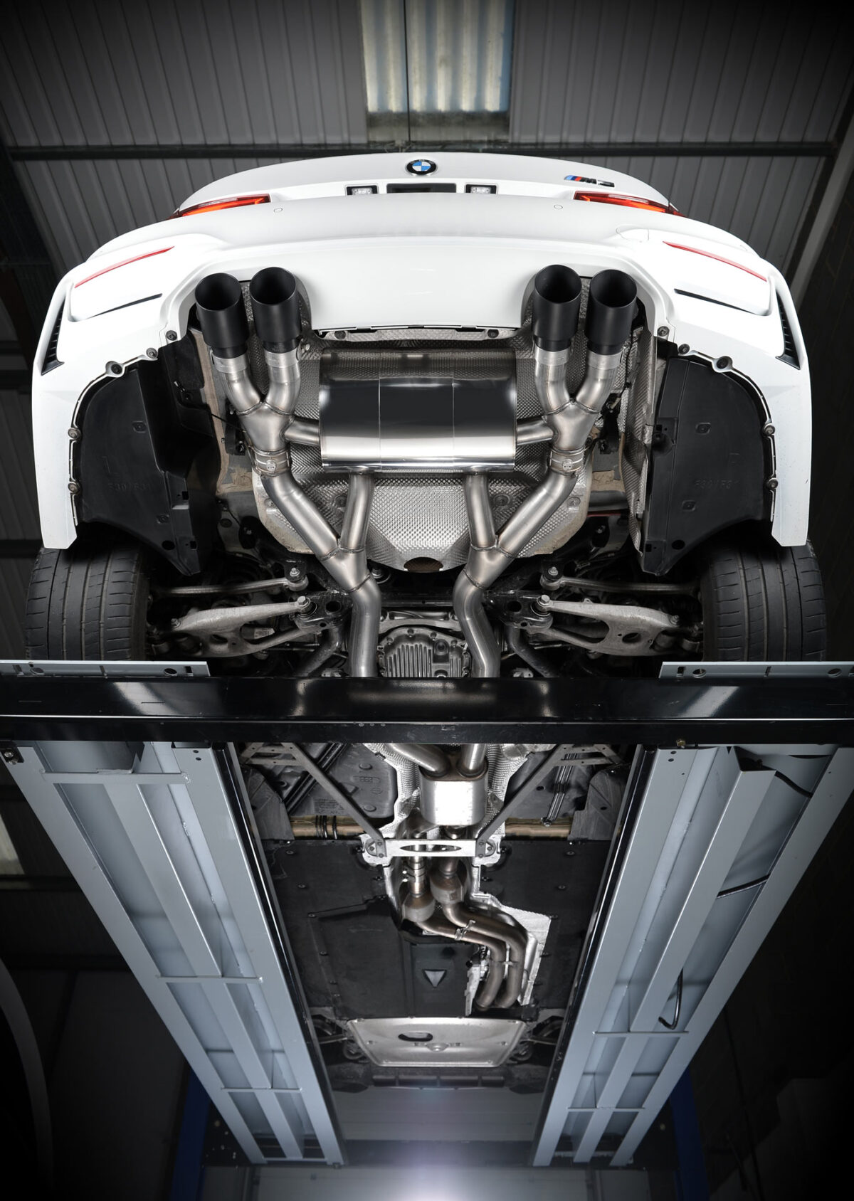 MILLTEK Cat Back Exhaust System SSXBM993 BMW F80 M3 Saloon / BMW F82 M4 Coupé