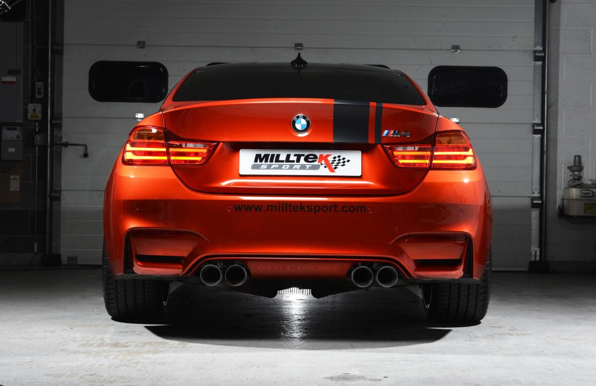 MILLTEK Cat Back Exhaust System SSXBM996 BMW F80 M3 Saloon / BMW F82 M4 Coupé