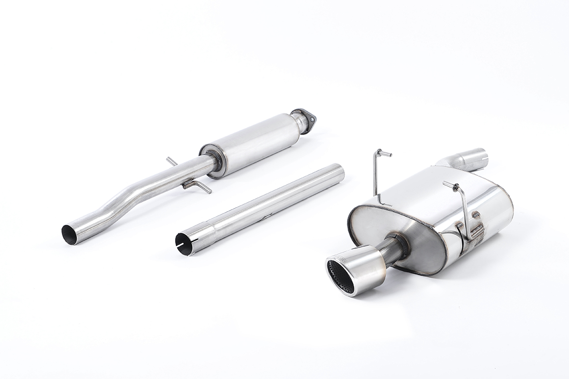 MILLTEK Cat Back Stainless Exhaust System SSXM012 Mk1 MINI One 1.6i (R50) / Mk1 MINI Cooper 1.6i (R50)