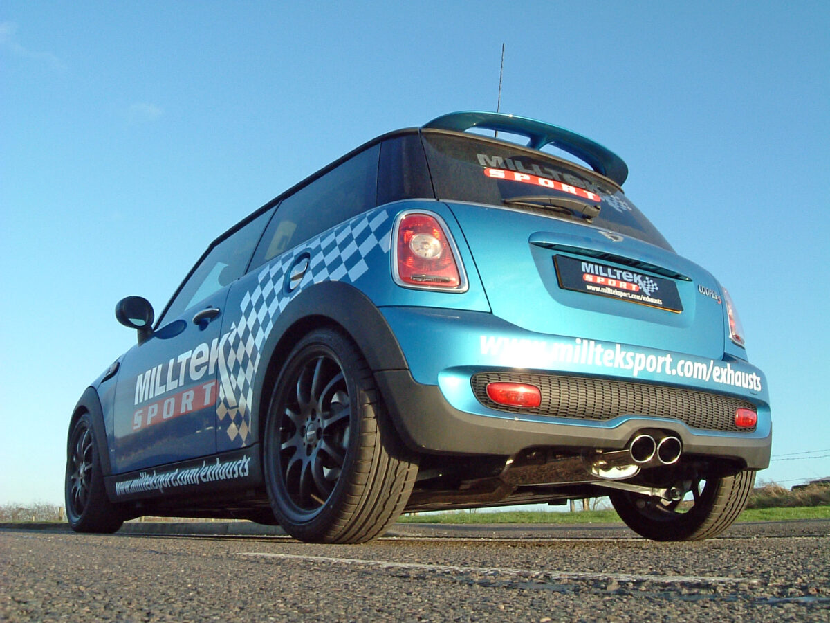 MILLTEK Cat Back Exhaust System SSXM017 Mk2 MINI Cooper S 1.6i Turbo (R56) / Mk2 MINI Cooper S Coupé (R58)