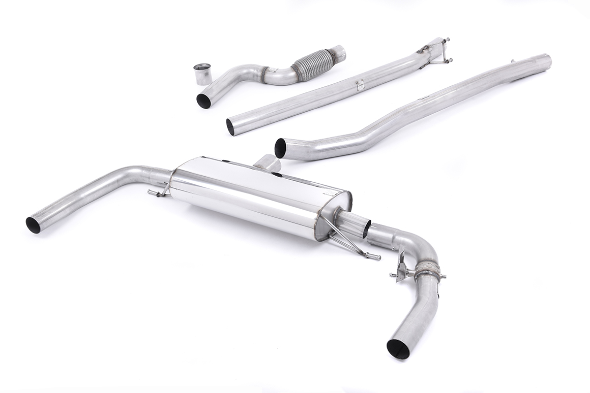 MILLTEK Cat Back Exhaust System SSXMZ111 Mercedes CLA Class - CLA45 AMG 2.0 Turbo