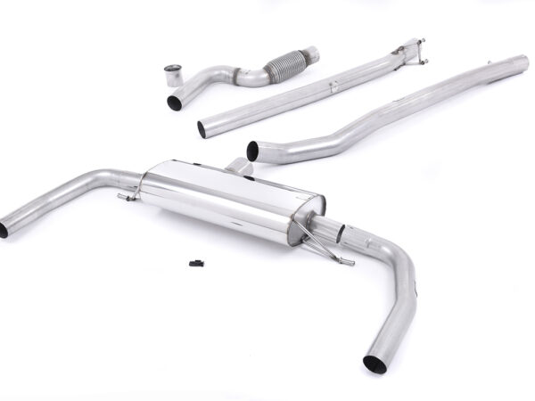 MILLTEK Cat Back Exhaust System SSXMZ112 Mercedes CLA Class - CLA45 AMG 2.0 Turbo