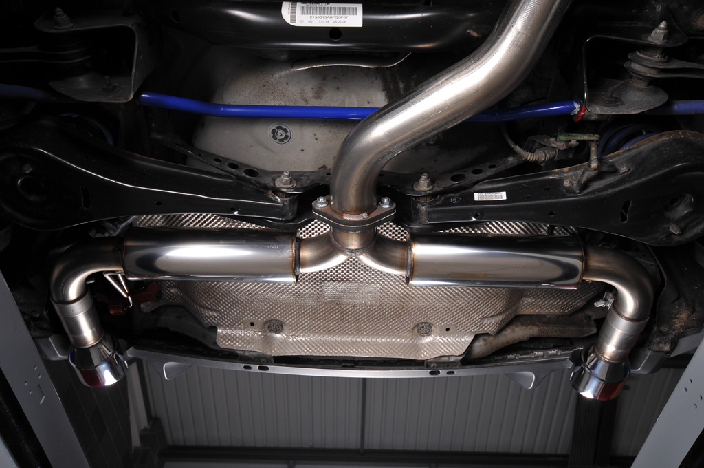 MILLTEK Cat Back Exhaust System SSXVW145 Volkswagen Golf Mk6 GTi 2.0 TSI 210PS