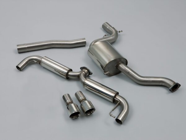 MILLTEK Cat Back Exhaust System SSXVW145 Volkswagen Golf Mk6 GTi 2.0 TSI 210PS
