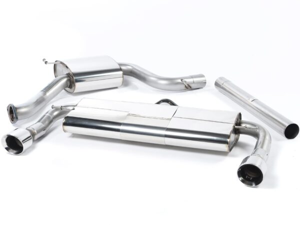 MILLTEK Cat Back Exhaust System SSXVW225 Volkswagen Golf MK7 GTi (including GTi Performance Pack models)