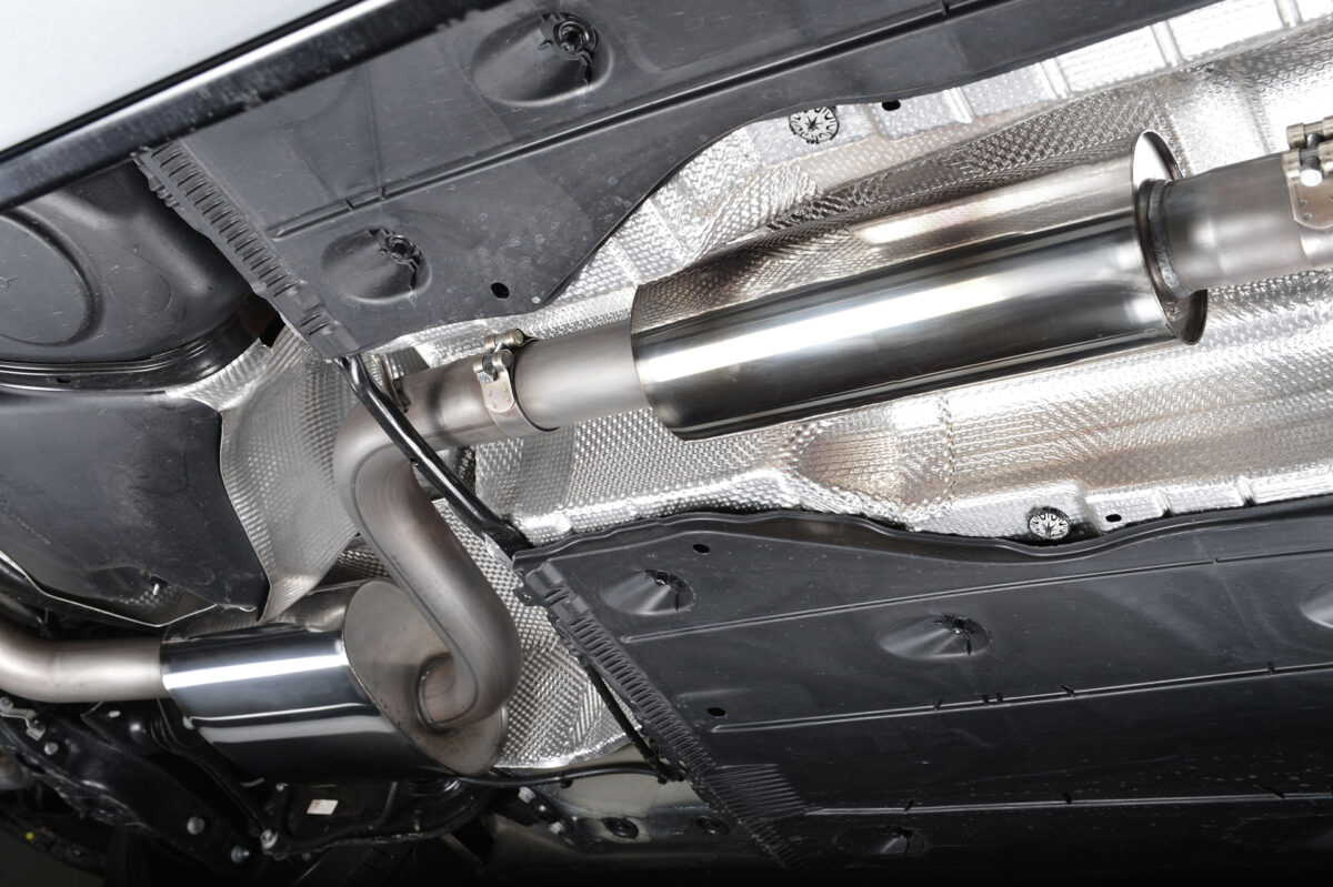 MILLTEK Cat Back Exhaust System SSXVW228 Volkswagen Golf MK7 GTi (including GTi Performance Pack models)