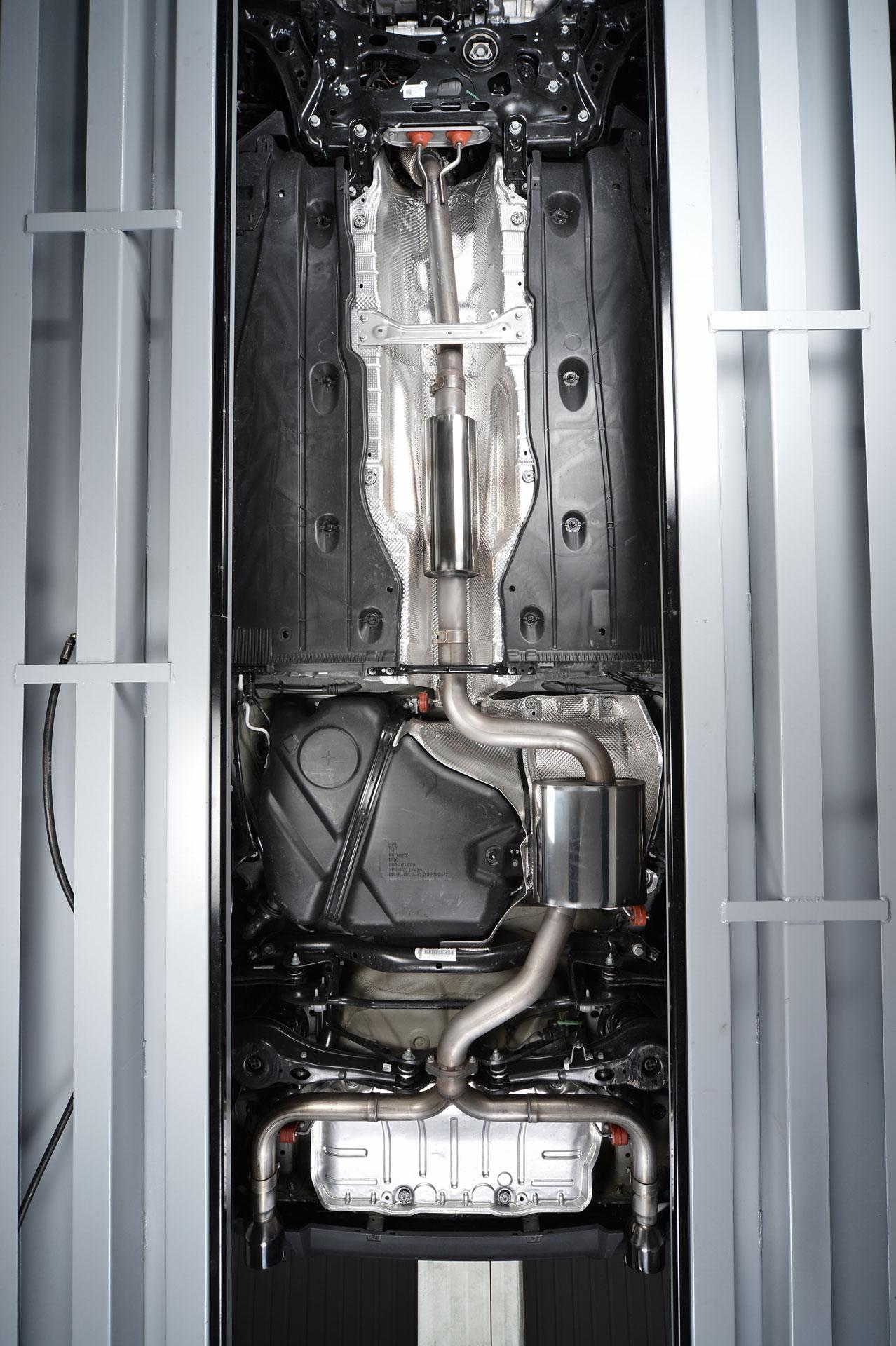 Milltek Cat Back Exhaust System Ssxvw229 Volkswagen Golf Mk7 Gti Including Gti Performance Pack Models Cmwheels