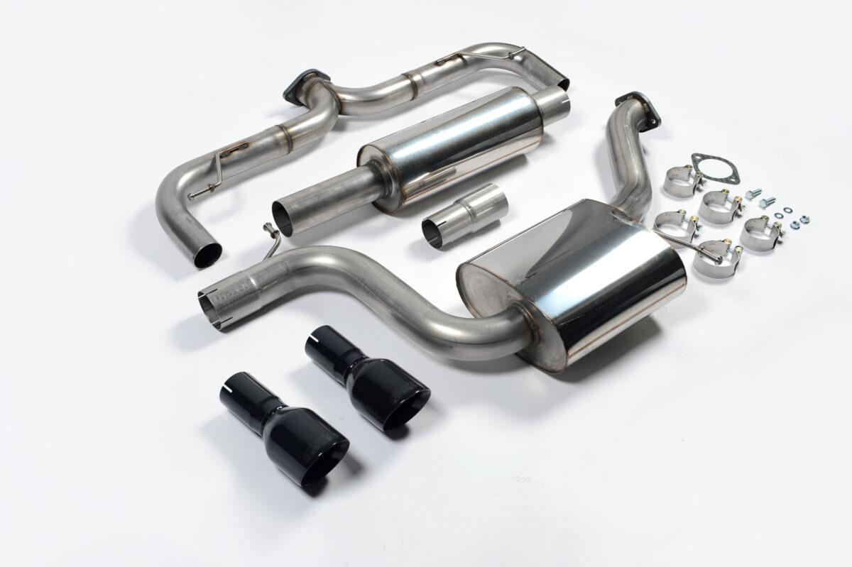 MILLTEK Cat Back Exhaust System SSXVW229 Volkswagen Golf MK7 GTi (including GTi Performance Pack models)