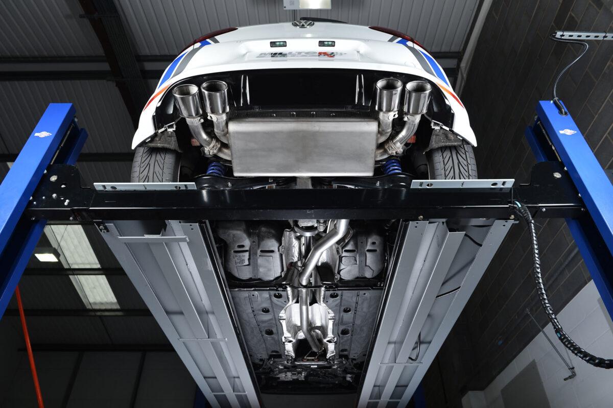 MILLTEK Cat Back Exhaust System SSXVW257 Volkswagen Golf MK7 R 2.0 TSI 300PS