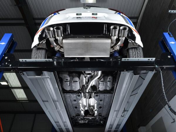 MILLTEK Cat Back Exhaust System SSXVW259 Volkswagen Golf MK7 R 2.0 TSI 300PS