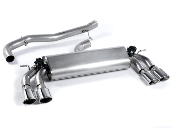 MILLTEK Cat Back Exhaust System SSXVW259 Volkswagen Golf MK7 R 2.0 TSI 300PS