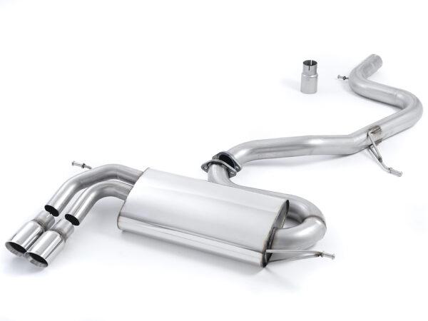 MILLTEK Cat Back Exhaust System SSXVW265 Volkswagen Golf Mk5 GTi 2.0T FSI