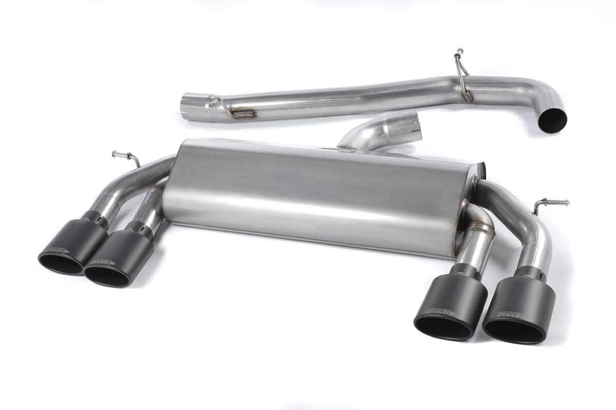 MILLTEK Cat Back Exhaust System SSXVW306 Volkswagen Golf MK7 R 2.0 TSI 300PS
