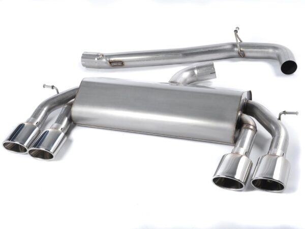 MILLTEK Cat Back Exhaust System SSXVW307 Volkswagen Golf MK7 R 2.0 TSI 300PS