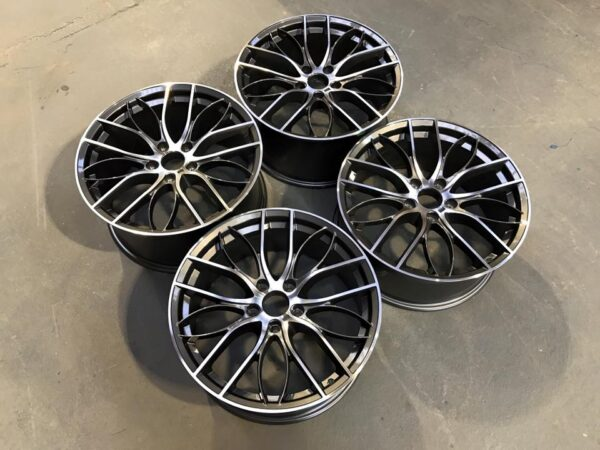 "19"" Staggered 405M Style Wheels - Gun Metal / Machined - E90 / E91 / E92 / F10 / E46 / Z4 / F30"