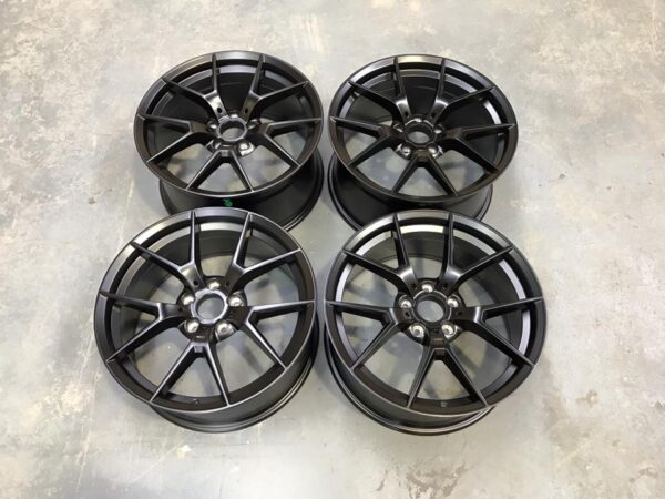 "20"" Staggered 763M M4 CS Style Wheels - Satin Black - E90 / E91 / E92 / F10 / E46 / Z4 / F30"
