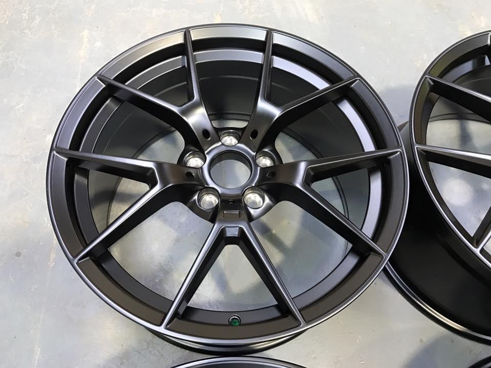 """20"""" Staggered 763M M4 CS Style Wheels - Satin Black - E90 / E91 / E92 / F10 / E46 / Z4 / F30"""