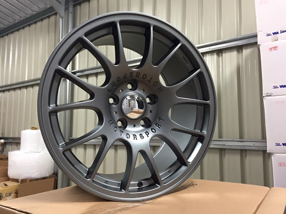 """18"""" BBS CH Style Wheels - Gun Metal -  VW / Audi / Mercedes - 5x112"""