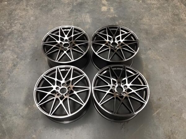 "19"" 666M Style Wheels - Gun Metal Machined - E87 / E88 / F20 / F21 / F22 / F23"
