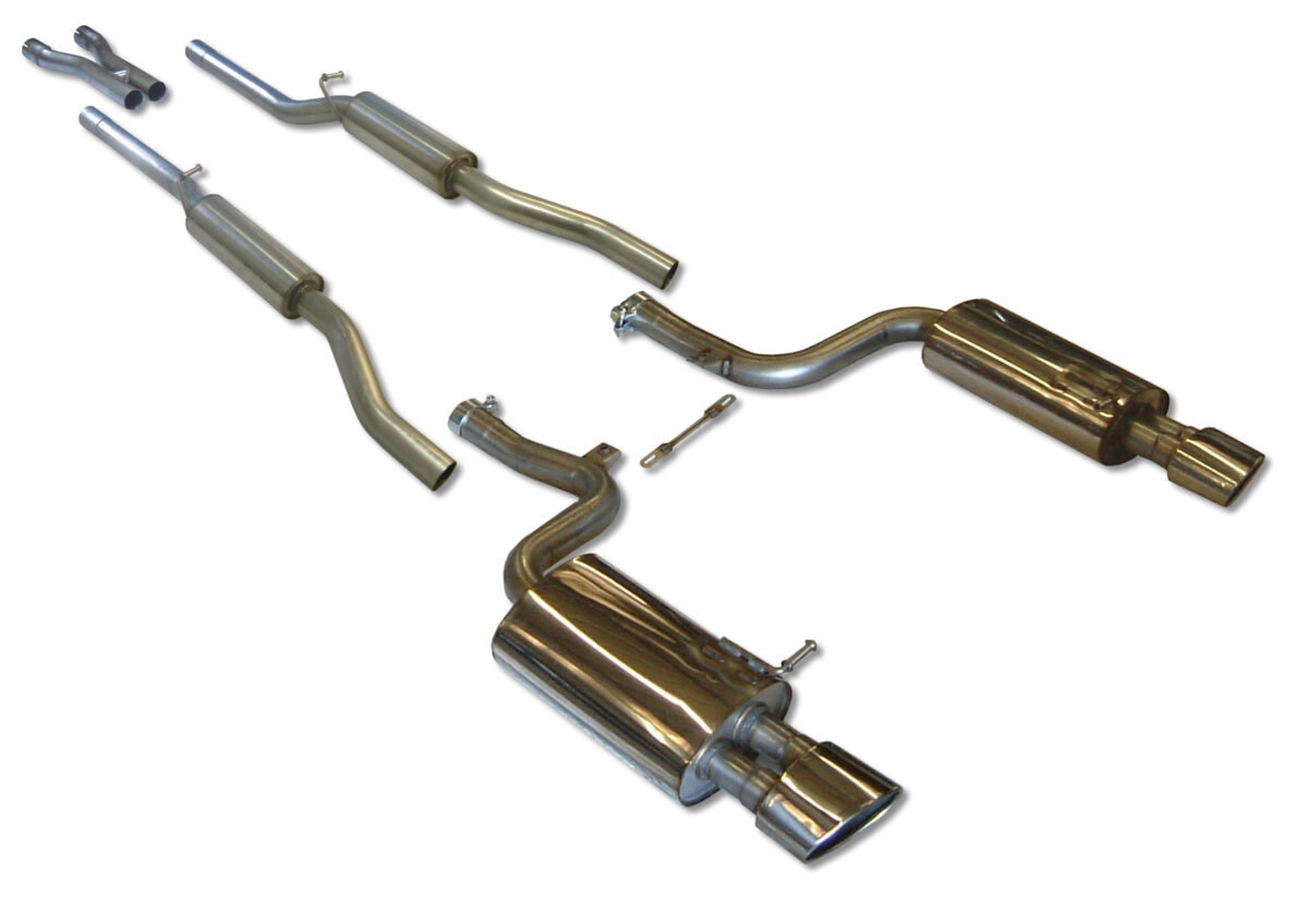 MILLTEK Cat Back Exhaust System SSXAU060 Audi RS4 B7 4.2 V8 Saloon Avant and Cabriolet