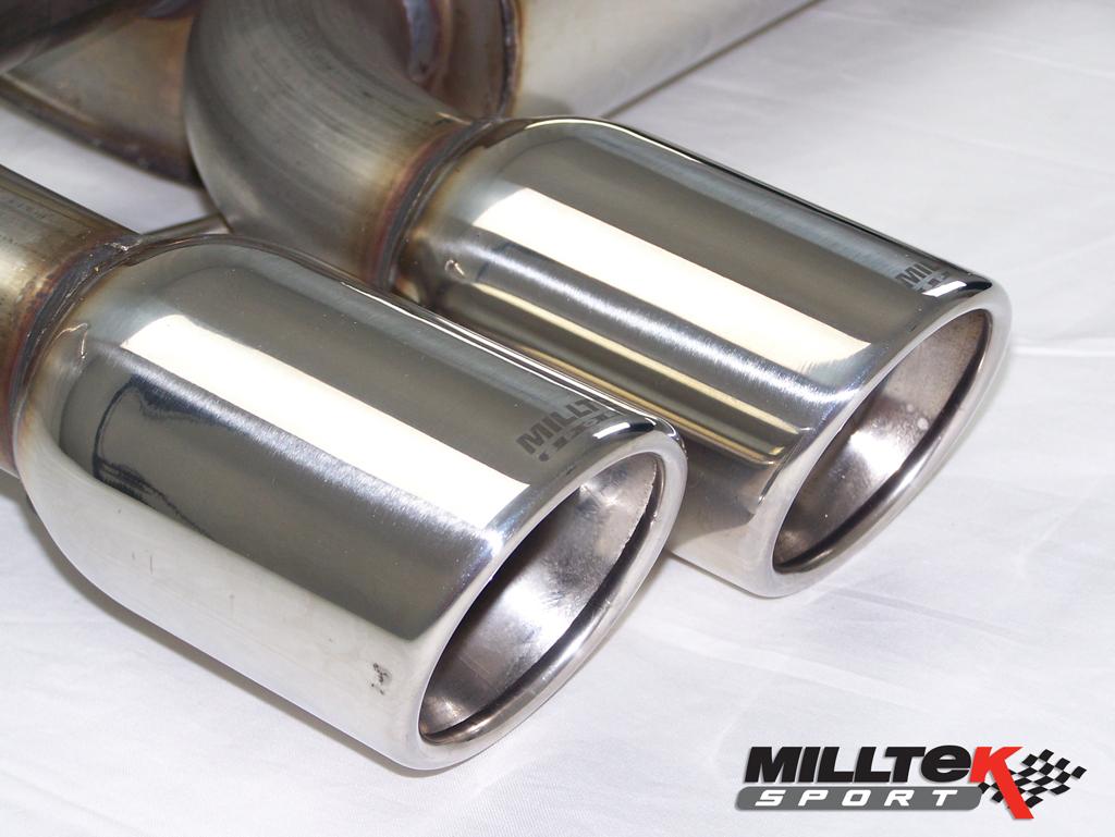MILLTEK Cat Back Exhaust System SSXAU125 Audi S3 2.0 T quattro 3-Door 8P
