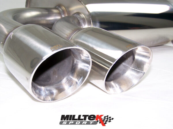 MILLTEK Cat Back Exhaust System SSXAU126 Audi S3 2.0 T quattro 3-Door 8P