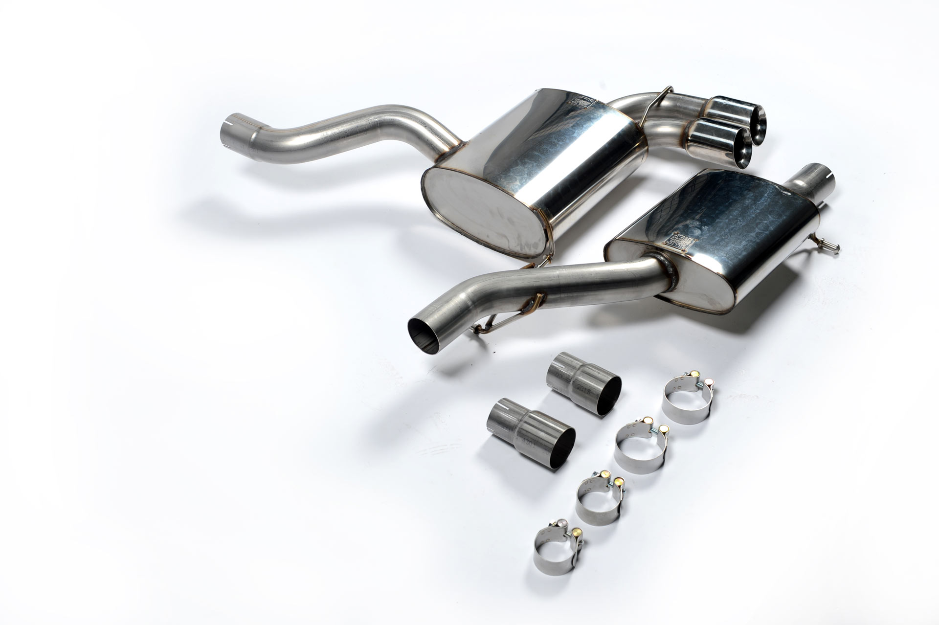 MILLTEK Cat Back Exhaust System SSXAU126 Audi S3 2.0 T quattro 3-Door 8P