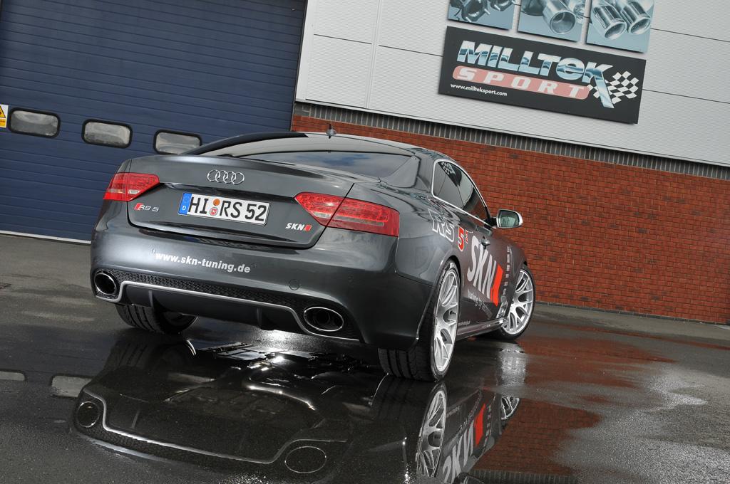 MILLTEK Cat Back Exhaust System SSXAU267 Audi RS5 Coupe