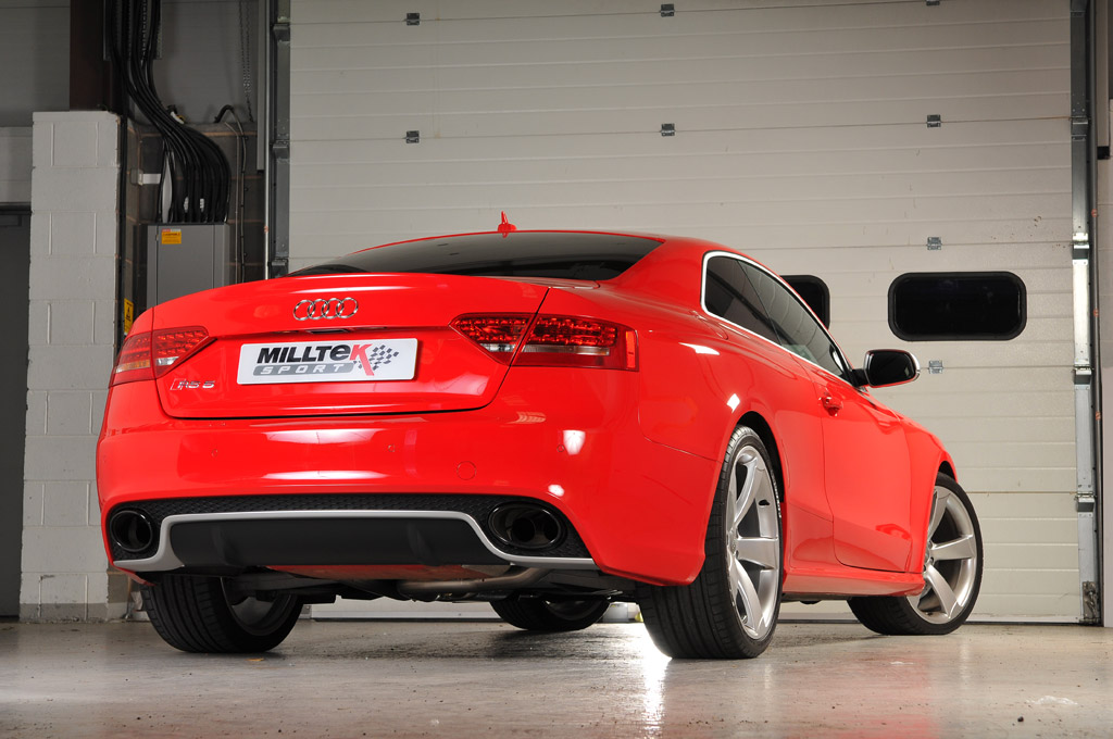 MILLTEK Cat Back Exhaust System SSXAU267 Audi RS5 Coupe