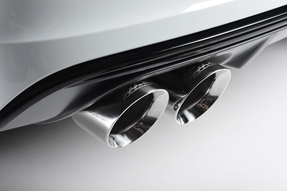 MILLTEK Cat Back Exhaust System SSXAU400 Audi S3 2.0 TFSI quattro 3-Door 8V