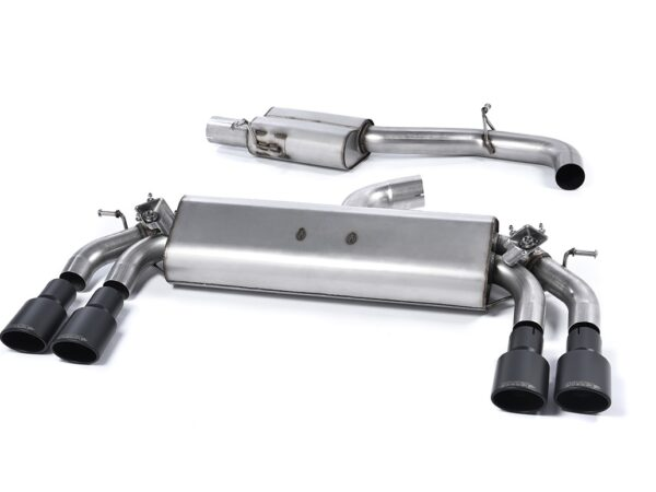 MILLTEK Cat Back Exhaust System SSXAU401 Audi S3 2.0 TFSI quattro 3-Door 8V