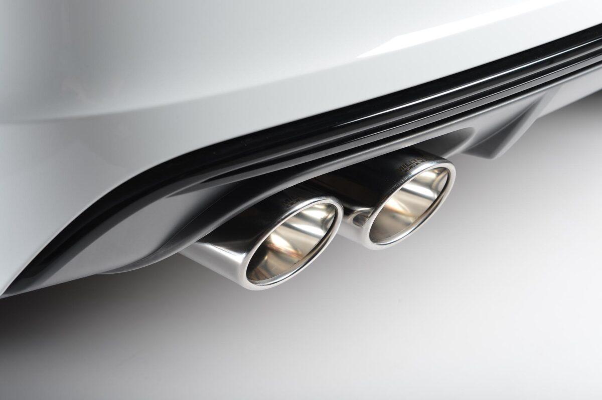 MILLTEK Cat Back Exhaust System SSXAU523 Audi S3 2.0 TFSI quattro 3-Door 8V