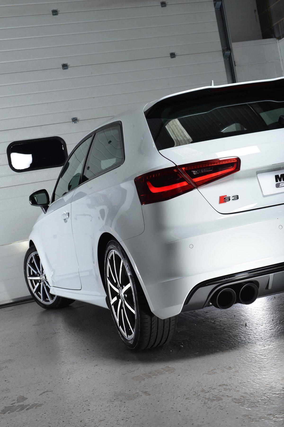 MILLTEK Cat Back Exhaust System SSXAU525 Audi S3 2.0 TFSI quattro 3-Door 8V