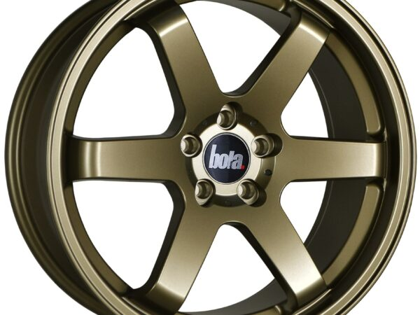"18"" BOLA B1 Wheels - Matt Bronze - VW / Audi / Mercedes - 5x112"