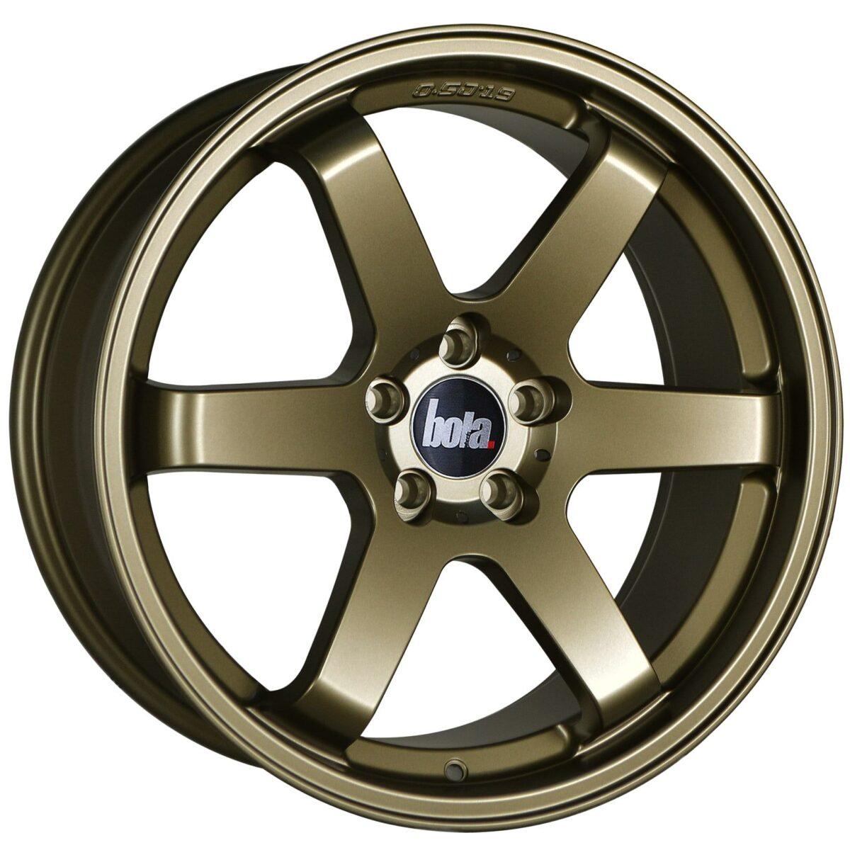 "19"" BOLA B1 Wheels - Matt Bronze - VW / Audi / Mercedes - 5x112"