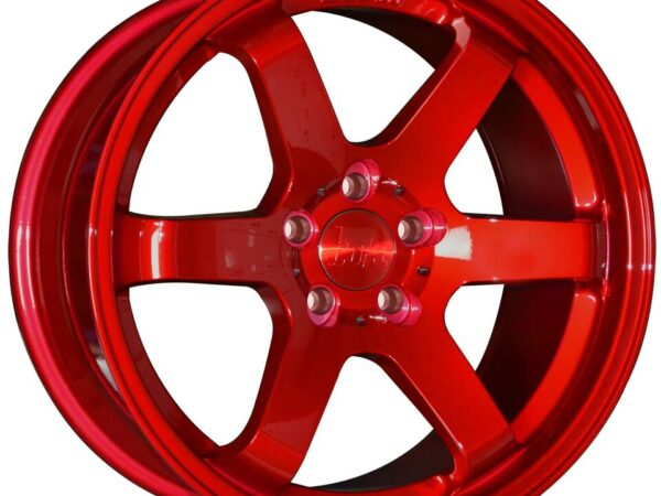 "18"" BOLA B1 Wheels - Candy Red - VW / Audi / Mercedes - 5x112"