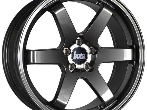 "19"" BOLA B1 Wheels - Gloss Gunmetal - VW / Audi / Mercedes - 5x112"