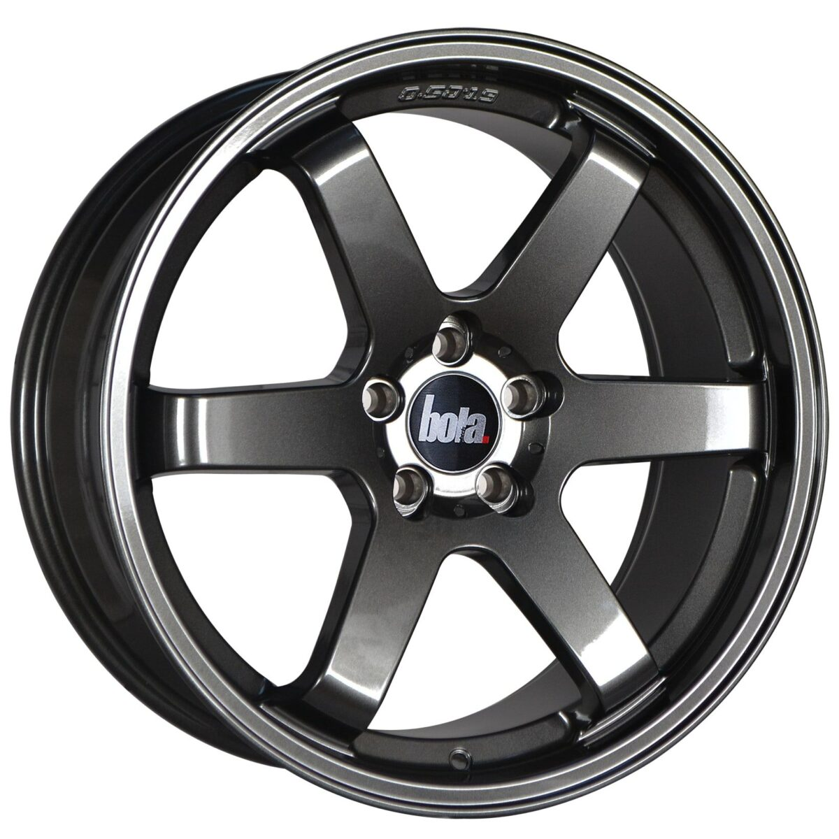 "19"" BOLA B1 Wheels - Gloss Gunmetal - VW / Audi / Mercedes - 5x112"