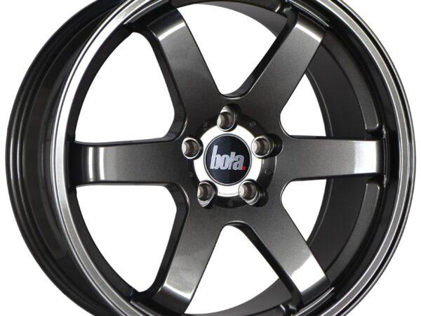 "19"" BOLA B1 Wheels - Gloss Gunmetal - All BMW Models"
