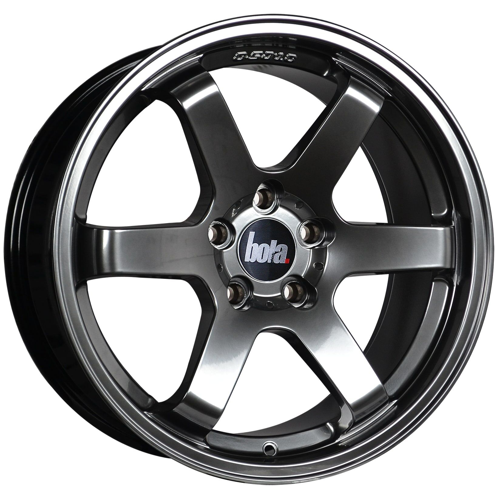 "18"" BOLA B1 Wheels - Hyper Black - VW / Audi / Mercedes - 5x112"