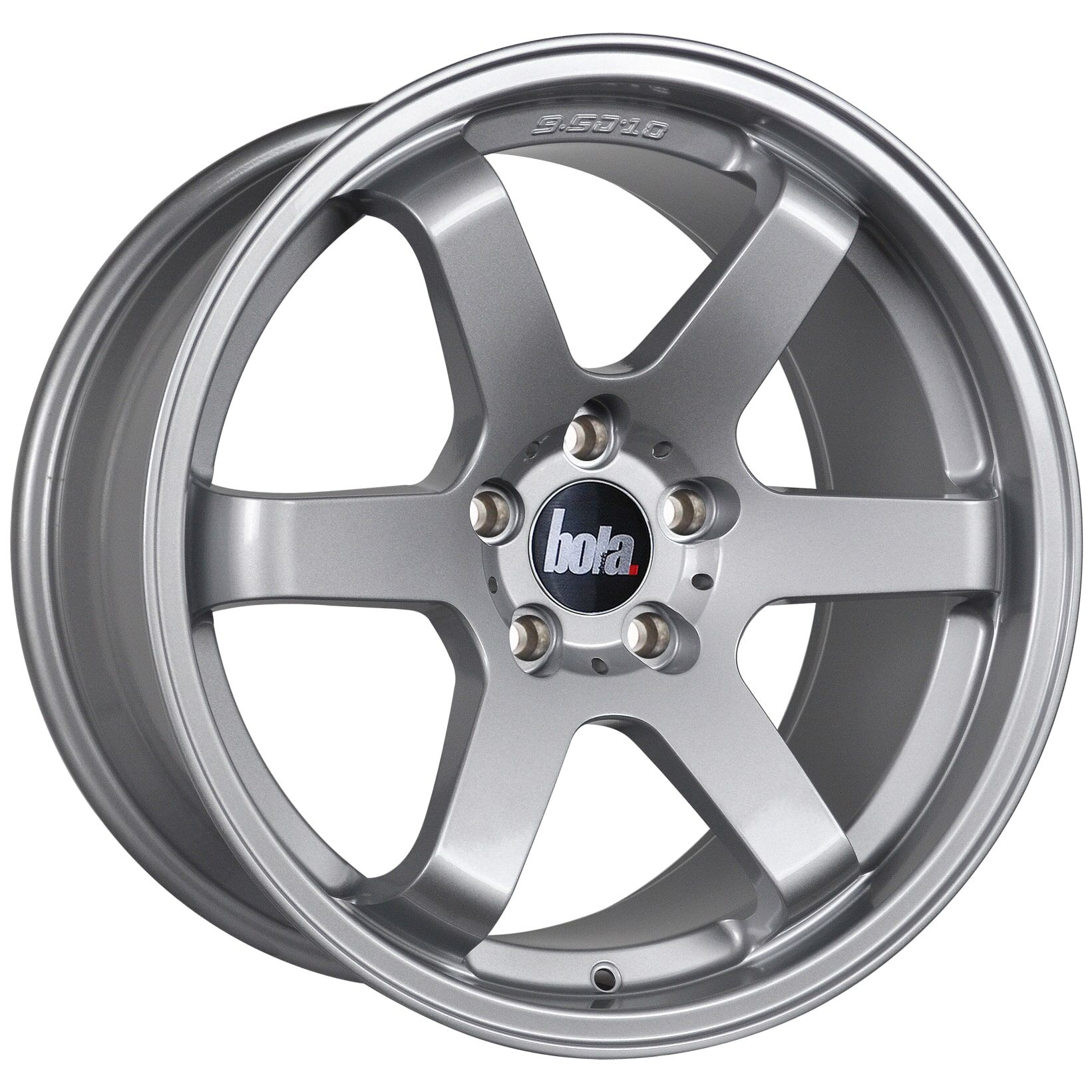 "18"" BOLA B1 Wheels - Silver - VW / Audi / Mercedes - 5x112"