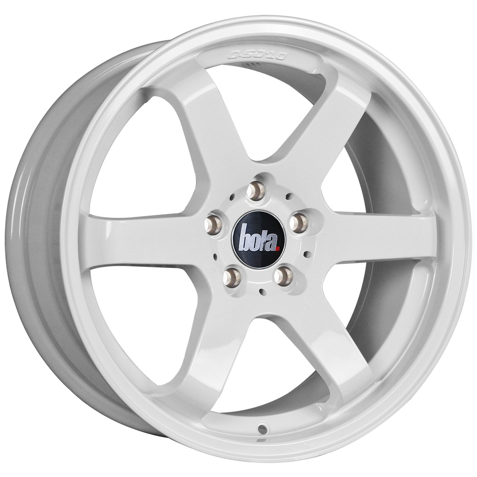 "18"" BOLA B1 Wheels - White - All BMW Models"