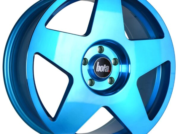 "18"" BOLA B10 Wheels - Hyper Blue - All BMW Models"