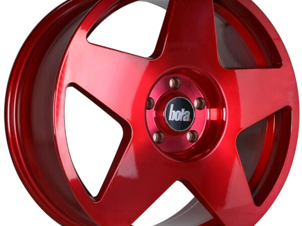 "18"" BOLA B10 Wheels - Hyper Red - VW / Audi / Mercedes - 5x112"
