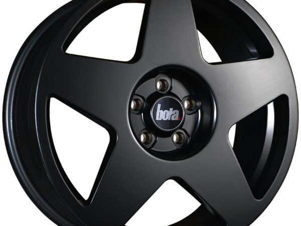 "19"" BOLA B10 Wheels - Matt Black - VW / Audi / Mercedes - 5x112"