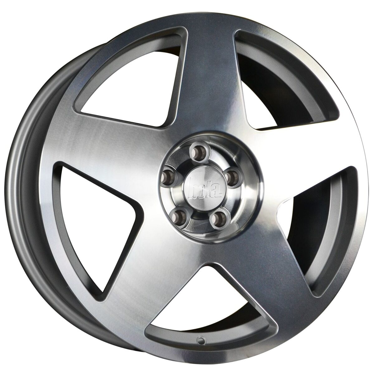 "18"" BOLA B10 Wheels - Silver Polished Face - VW / Audi / Mercedes - 5x112"